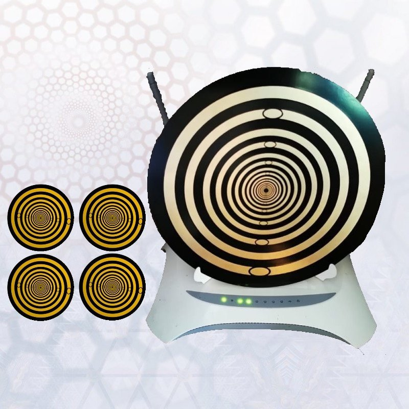 Complete Package: Family Pack of 4 BioArc Phone Discs & Large BioArc Modem Disc package special…