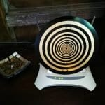 Large BioArc Modem Disc with Stand